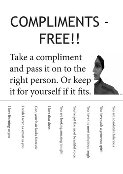COMPLIMENTS -