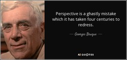 Perspective is a ghastly mistake 