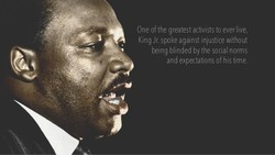 One of the greatest activists to ever live, 