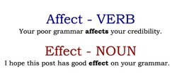 Affect - VERB 