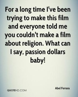 For a long time I've been 