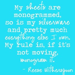 My are 