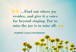 ...Find out where joy 