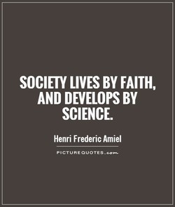 SOCIETY LIVES BY FAITH, 