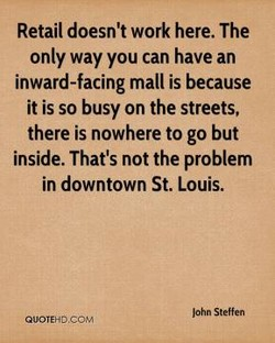 Retail doesn't work here. The 