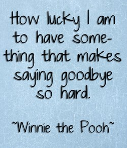 How lucey I am 