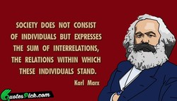 SOCIETY DOES NOT CONSIST 