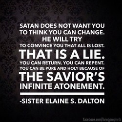 SATAN DOES NOT WANT YOU 