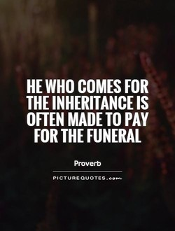 HE WHO COMES FOR 