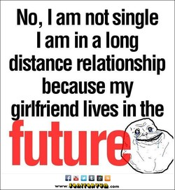 No, I am not single 