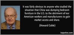 It was fairly obvious to anyone who studied the 