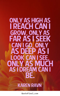 ONLY AS HIGH AS 