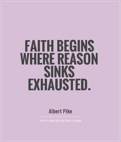 FAITH BEGINS 