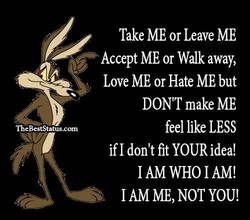 Take ME or Leave ME 