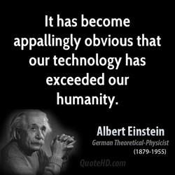 It has become 