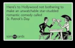 Here's to Hoåywood not bothenng to 