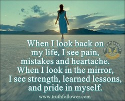 When I look back on 