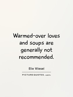Warmed-over loves 