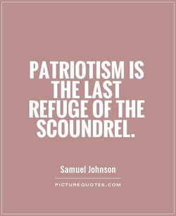 PATRIOTISM IS 