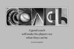 A good coach 