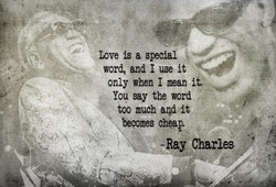 Love is a special 