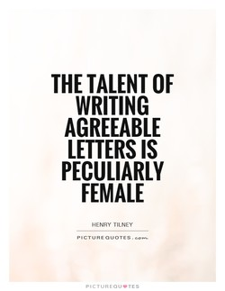 THE TALENT OF 