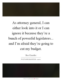 As attorney general, I can 