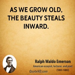 AS WE GROW OLD, 