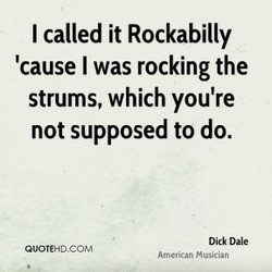 I called it Rockabilly 