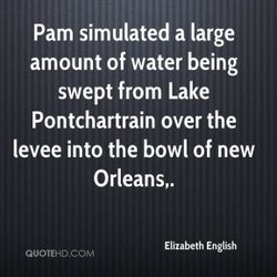 Pam simulated a large 