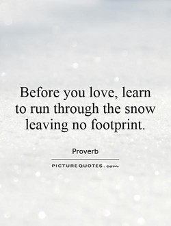 Before you love, learn 