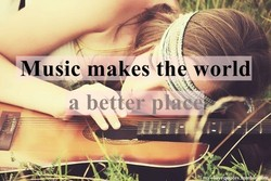 Music makes t world