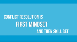 CONFLICT RESOLUTION IS 