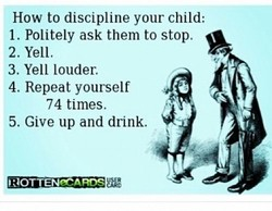 How to discipline your child: 