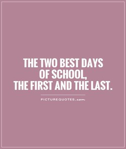 THE TWO BEST DAYS 