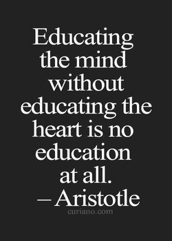 Educating 