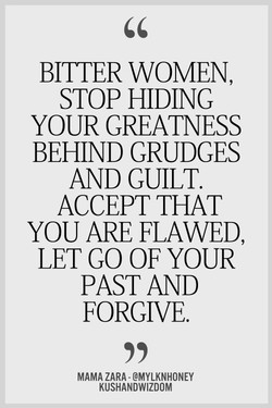 BITTER WOMEN, 