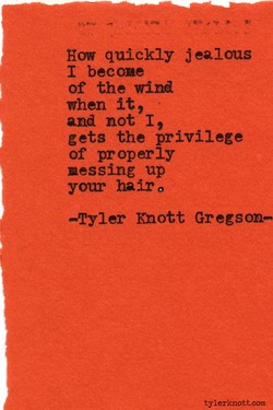 How quickly jealous 