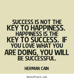 SUCCESS IS NOT THE 