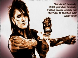 •suicide isn't cowardly. 