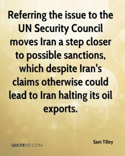 Referring the issue to the 
