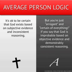 AVERAGE PERSON LOGIC 