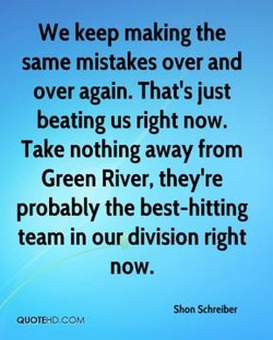 We keep making the 
