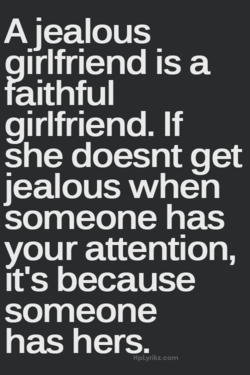 A jealous 