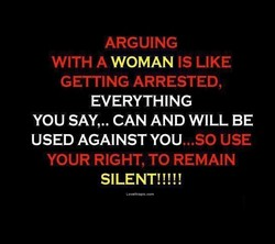 ARGUING 