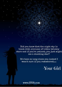 Did you know that the night sky is 