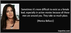 Sometimes it's more difficult to exist as a female 