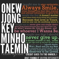 taught me to sta optimistic, 