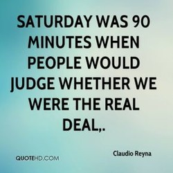 SATURDAY WAS 90 