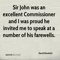 Sir John was an 